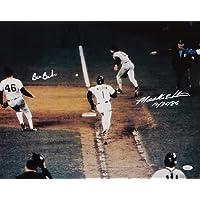 $85 » Mookie Wilson Bill Buckner Autographed 16x20 1986 World Series 10/25/86- JSA W Auth White