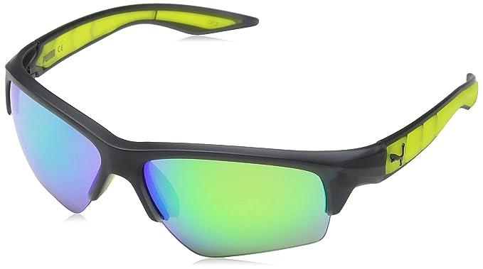 c5c37063a5 Puma PU0056S 001 Gafas de Sol, Gris (Grey/Green), 66 para Hombre:  Amazon.es: Ropa y accesorios