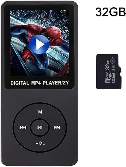"1.8/"" LCD Screen Digital MP3 Music MP4 Player Lossless w// FM Radio Support 32GB"