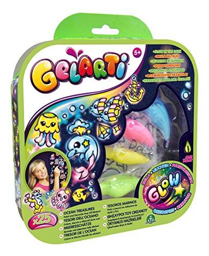 Gelarti - 8514 - Kit De Loisirs Créatifs - Phosphorescent - Trésors De L'océan