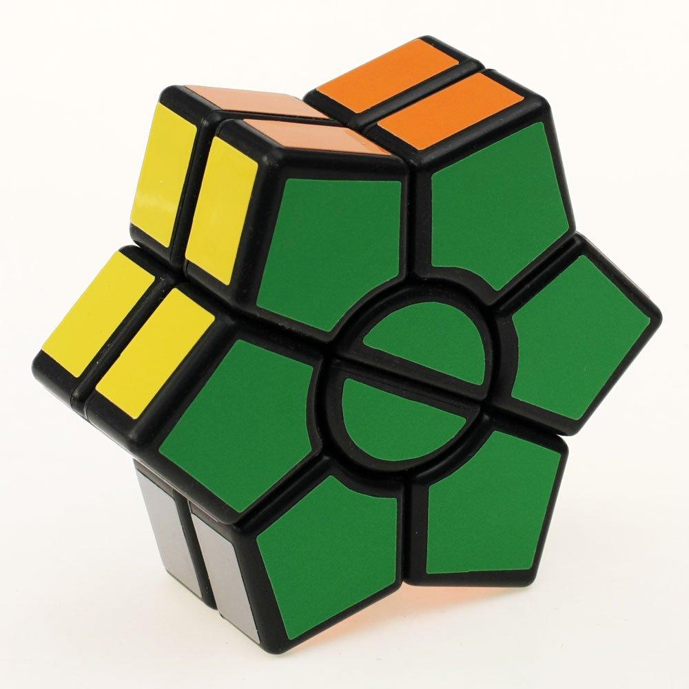 2017 New Magic Dart Magic hexagon flower Cube Black Twist Puzzle Toy Special Toys Fidget Cube LZLRUN