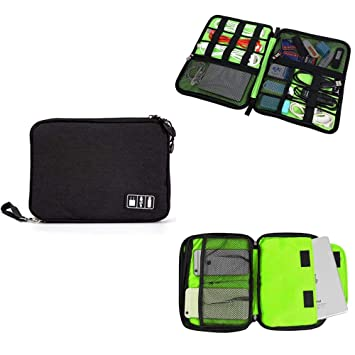 93ba06225920 Amazon.com  Accessory Organizer Bag Waterproof Portable Cable ...