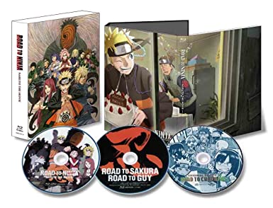 Amazon.com: Naruto - Road To Ninja Naruto The Movie (2BDS+CD ...