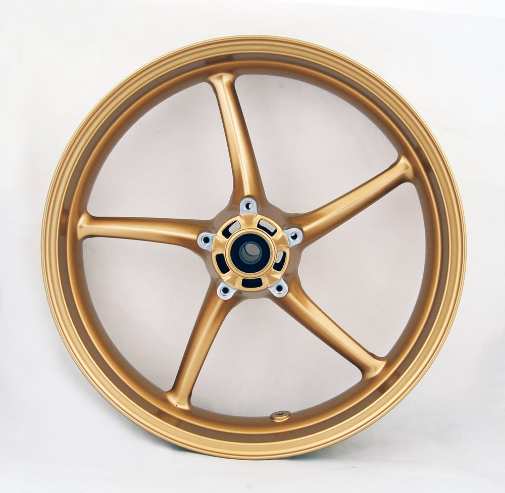 Areyourshop Front Wheel Rim For Triumph Street Triple 675 2008-2009 Daytona 675 06-10 Gold
