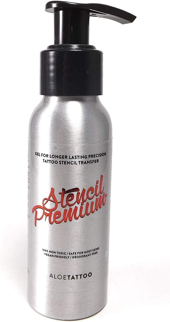 Aloe Stencil Premium Líquido Tatuaje Sello 90 ML - Inkgrafix ...