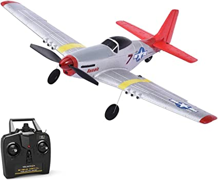 Remote Control Mustang P-51D Wild Horse Motor RC Airplane Mini Fixed Wing USB Ch