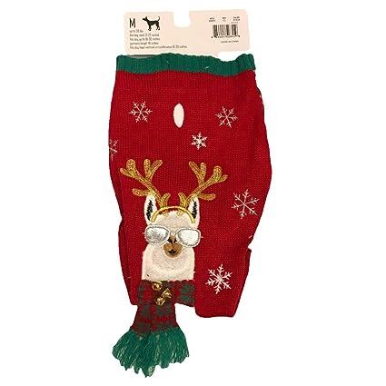 Amazoncom 33 Degrees Christmas Holiday Dog Sweater Size Medium