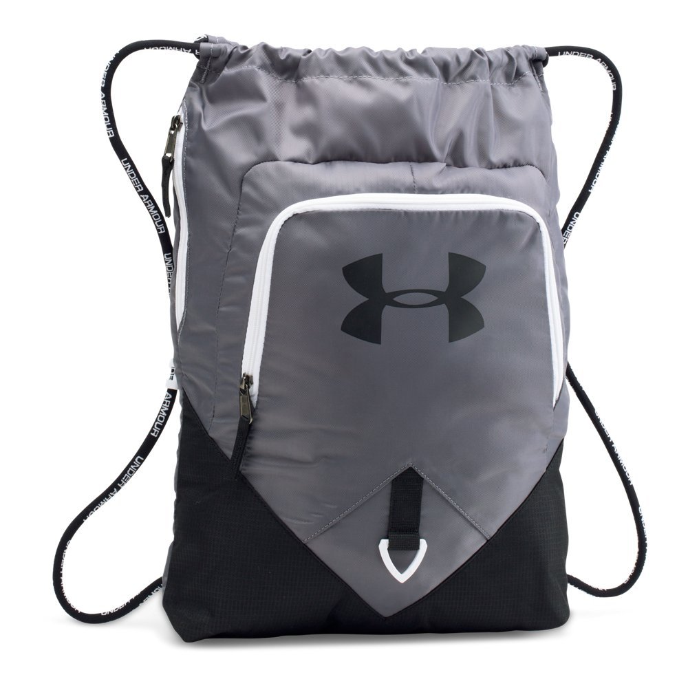 Under Armour 1261954  Undeniable Sackpack, Graphite/Black, One Size