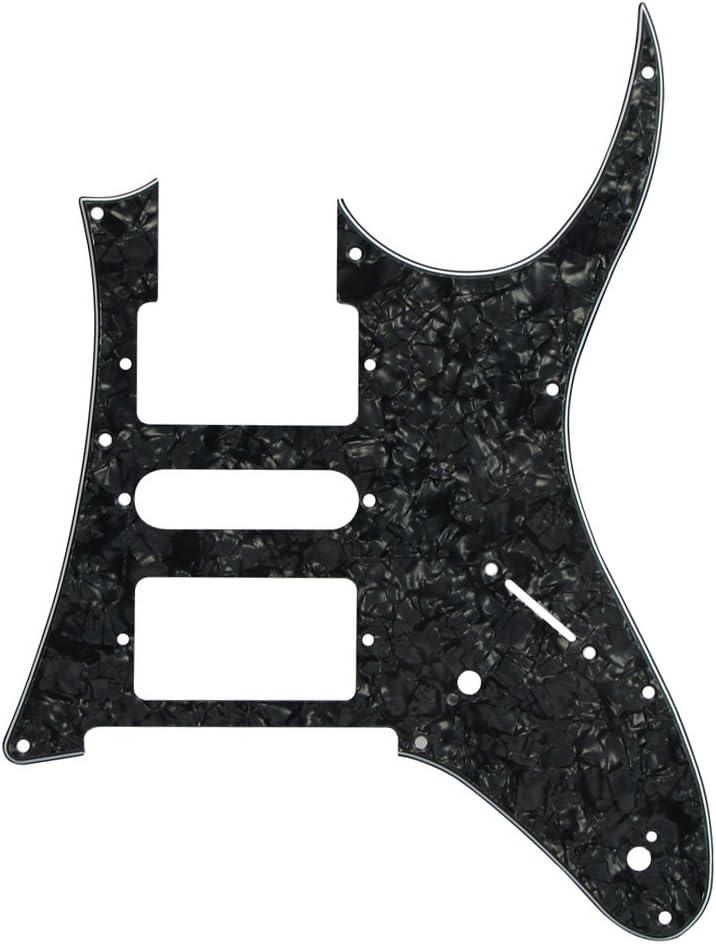 IKN – HSH 7 V pelusa 9 Hoyos Golpeador para guitarra Ibanez RG ...