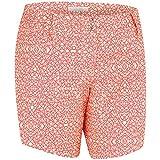 adidas Golf Women's Advance Deco Print Shorts, Faded Sun, 12
