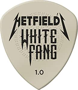 JIM DUNLOP White Fang 1.0mm Guitar Picks (PH122P1.00)
