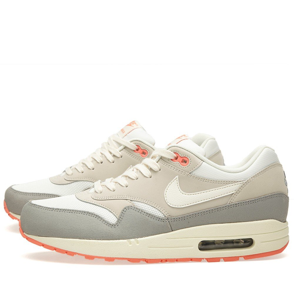 sports shoes a72f8 36075 NIKE WMNS Air Max 1 Essential Pigeon - SailSail-Mortar-Silver Trainer  Amazon.co.uk Shoes  Bags