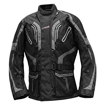 Roleff Racewear Lima Chaqueta Textil para Moto, Negro/Gris, S: Amazon.es: Coche y moto
