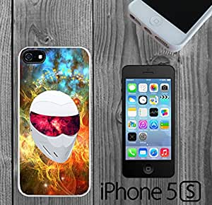 Interstellar White Racing Helm Custom made Case/Cover/Skin FOR iPhone 5/5s -White- Rubber Case