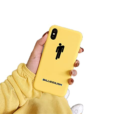 Billie Eilish Logo Phone Case for iPhone Soft Silicone Cover 20144 for iPhone X