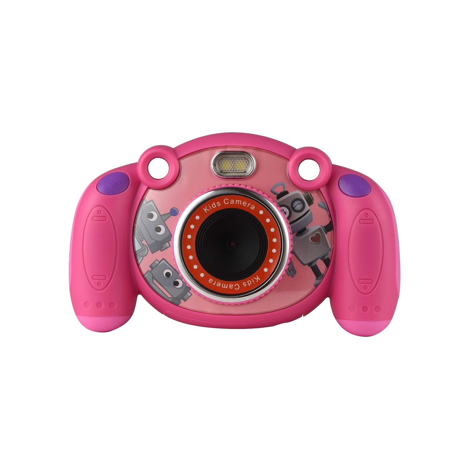 eyesen Kids Camera Digital Child Camcorder Shockproof Mini Camera with LED Flash Light and 2.0 Inch Sreen, Gifts for 4-8 Year Old Girls
