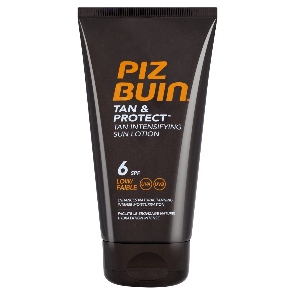 Piz Buin Tan & Protect Tan Intensifying Sun Lotion SPF 30 High, 150ml Johnson and Johnson 7579102 41975_-150ml