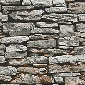 Arthouse, Moroccan Stacked Stone Wallpaper