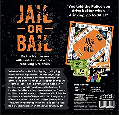 Amazon.com: Jail or Bail - Juego de mesa: Toys & Games