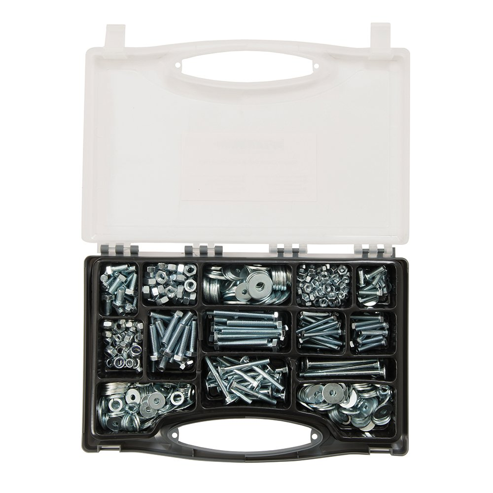 und Stellschrauben-Sortiment 580-tlg silver Fixman 871110 Schloss