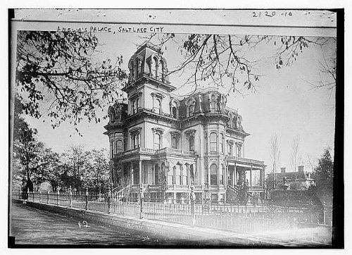 Amelia Palace - Photo: Amelia's Place,Salt Lake City (Amelia Palace?),Utah,Bain News Service,exterior