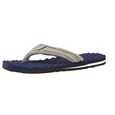 c45bcf4caef00f Weird Fish Knider Waffle Flip Flop Maritime Blue Size 10  Amazon.co ...