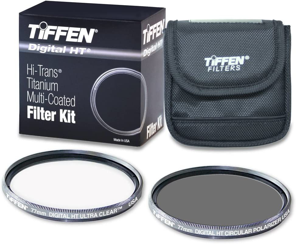 Tiffen 77HTPTP 77MM Digital HT Twin Pack with Ultra Clear and Circular Polarizer