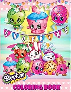 Shopkins Coloring Book Great Coloring Pages For Toddlers And Kids