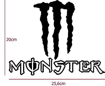 Monster Energy Aufkleber 256 X 20cm In Verschiedenen Farben Möglich Freistehender Aufkleber