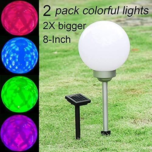 Solar Garden Globe Colour Changing Light