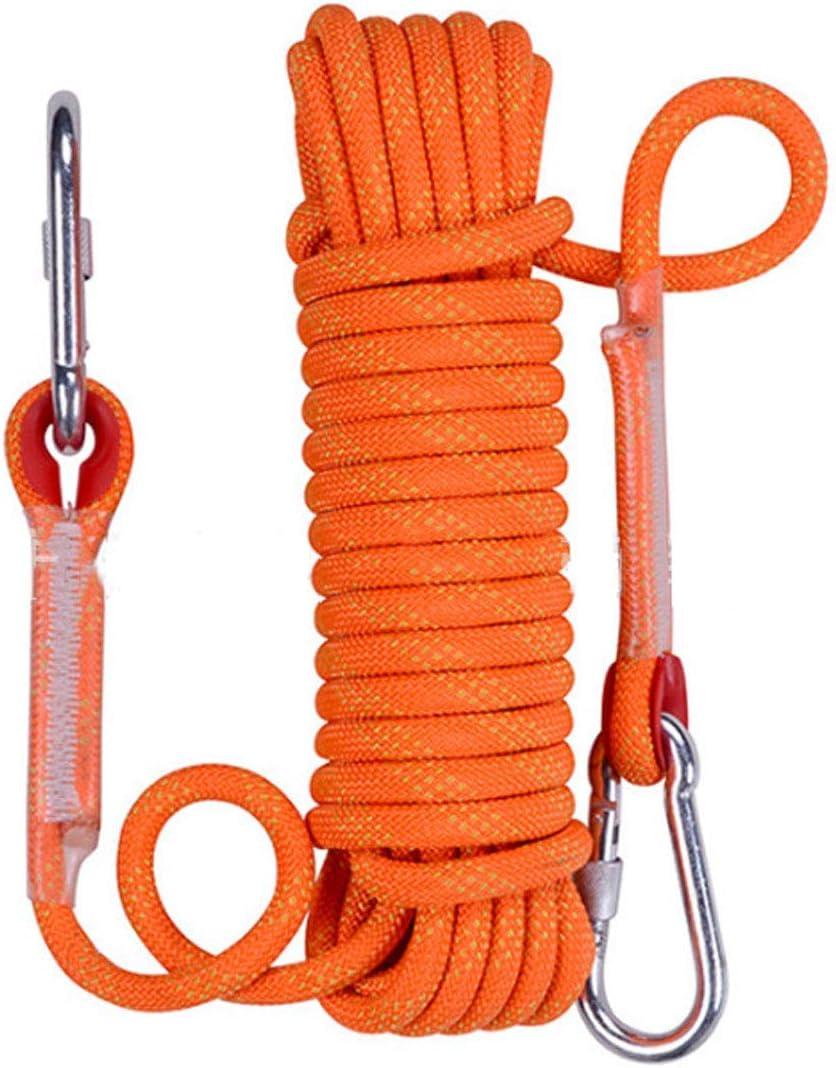 Cuerda de escalada estática para salvar la vida de la cuerda ...