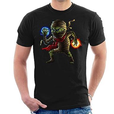 Mummy Cartoon Mens T-Shirt: Amazon.es: Ropa y accesorios