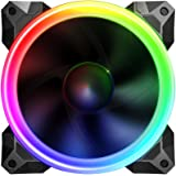 Sahara 12 cm Pirate Turbo true RGB fan. Compatible with Sahara RGB fan controller only!!. 55 setting