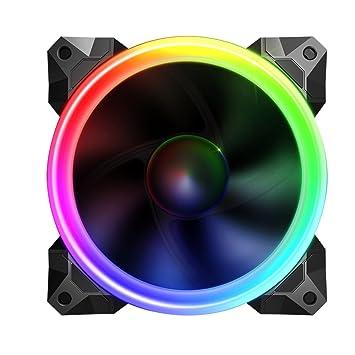 Sahara 12cm Pirate Turbo Verdadero RGB Ventilador Compatible sólo con el Controlador de Ventilador RGB. 55 Colores Diferentes: Amazon.es: Informática