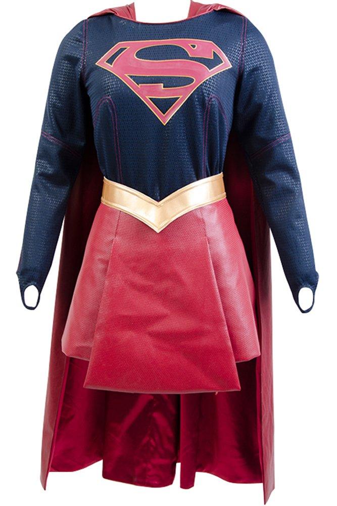 Wecos Supergirl Costume Kara Zor-El Danvers Outfit X-Small