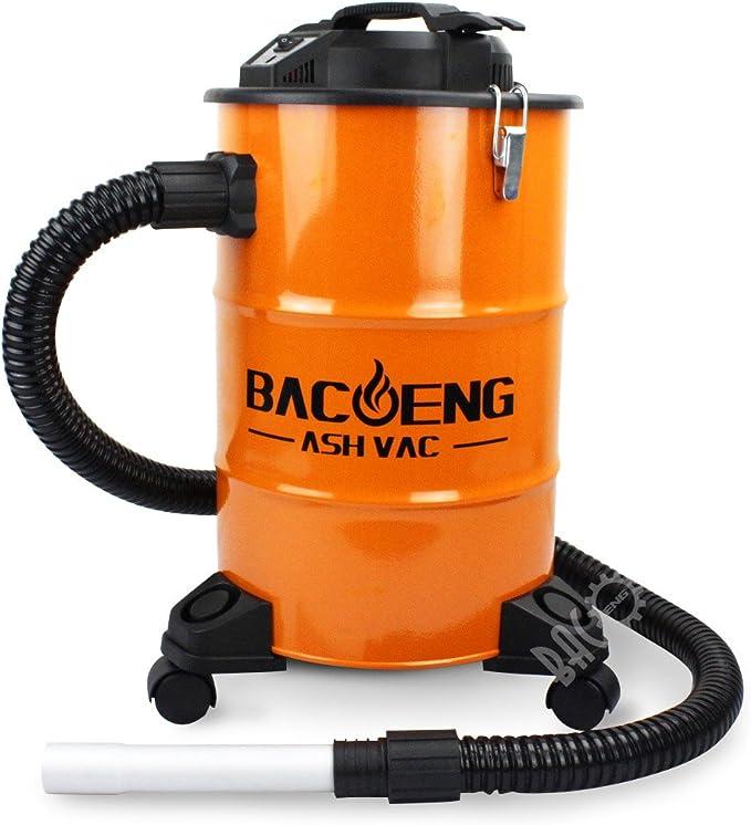 BACOENG Aspirador de Cenizas con Sistema de Doble Filtración ...