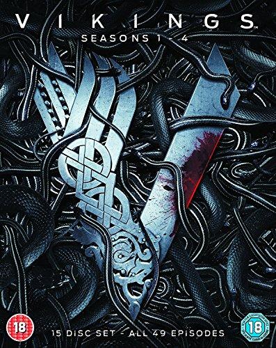 Vikings - Seasons 1-4 [Blu-ray] by