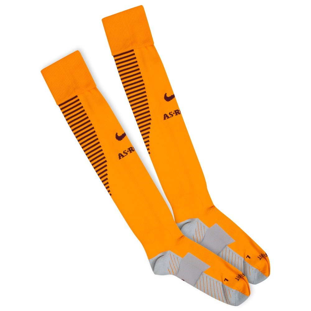 Nike 2016-2017 AS Roma Home Socks (Orange)