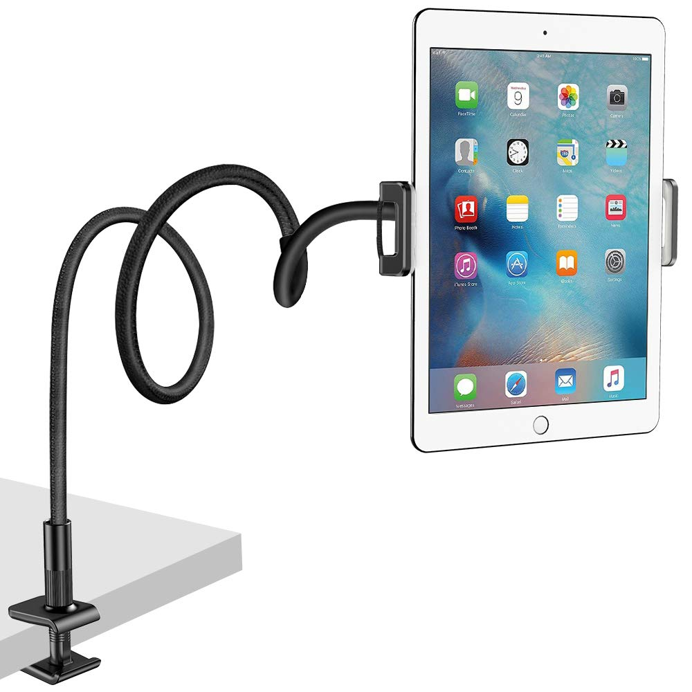 Superb Nulaxy Tablet Stand Flexible Gooseneck Tablet Holder Mount For Ipad Iphone Samsung Galaxy Tabs Amazon Kindle Fire Hd And More 4 7 10 5 Devices Download Free Architecture Designs Meptaeticmadebymaigaardcom