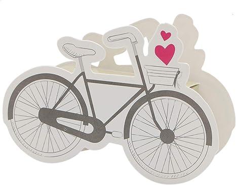 WSSROGY - Juego de 50 cajas de dulces creativas para bicicleta ...