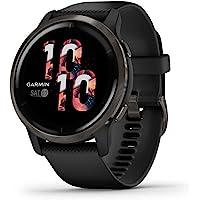 Garmin Venu 2 smartwatch GPS do monitorowania kondycji, czarny
