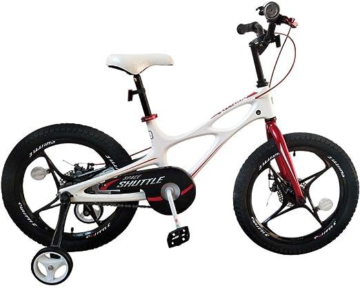 Bicicletas infantiles y accesorios Bicicleta para Niños Niños Cochecito Ligero Niños Niñas Bicicleta 3-10 Años Bicicleta De Aleación De Magnesio Bicicleta (Color : Blanco, Size : 14 Inch): Amazon.es: Hogar