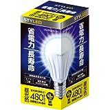 STYLED LED電球 口金直径17mm 小形電球タイプ 4.8W 480lm (昼光色相当・密閉器具対応・小形電球40W相当) LA35N40D1P1