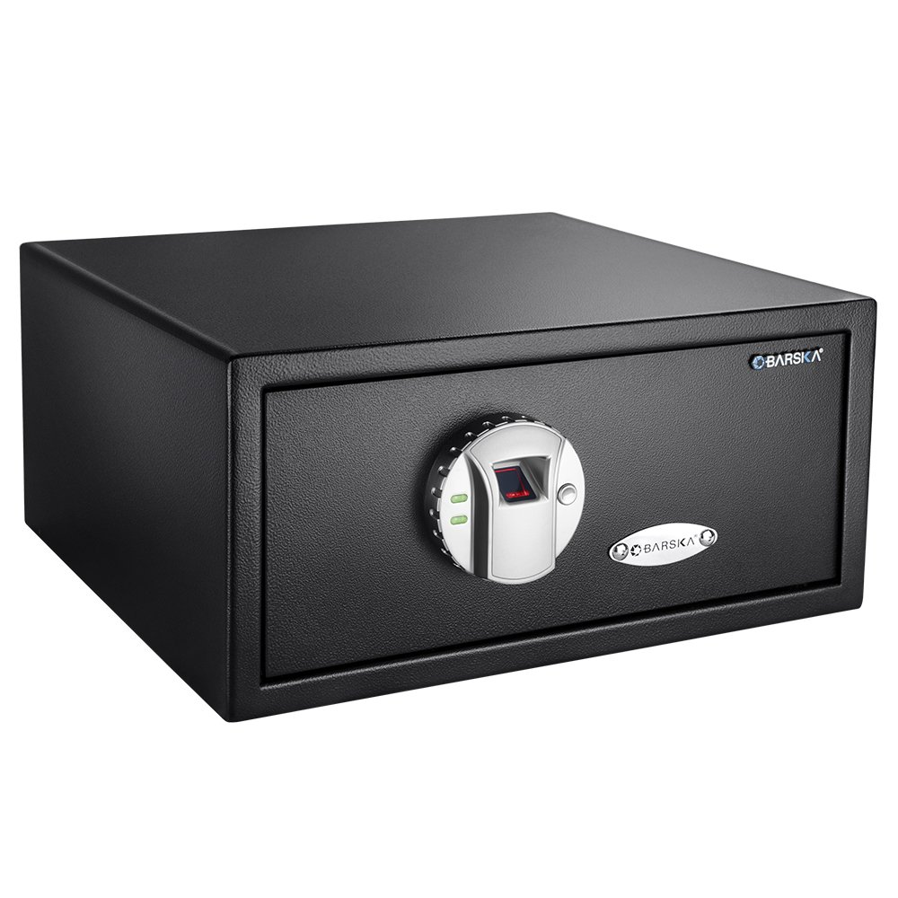 3. BARSKA Biometric Safe