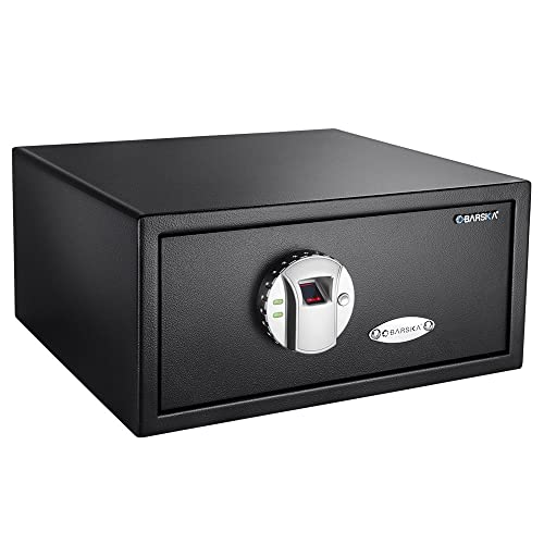 7. BARSKA Biometric Safe