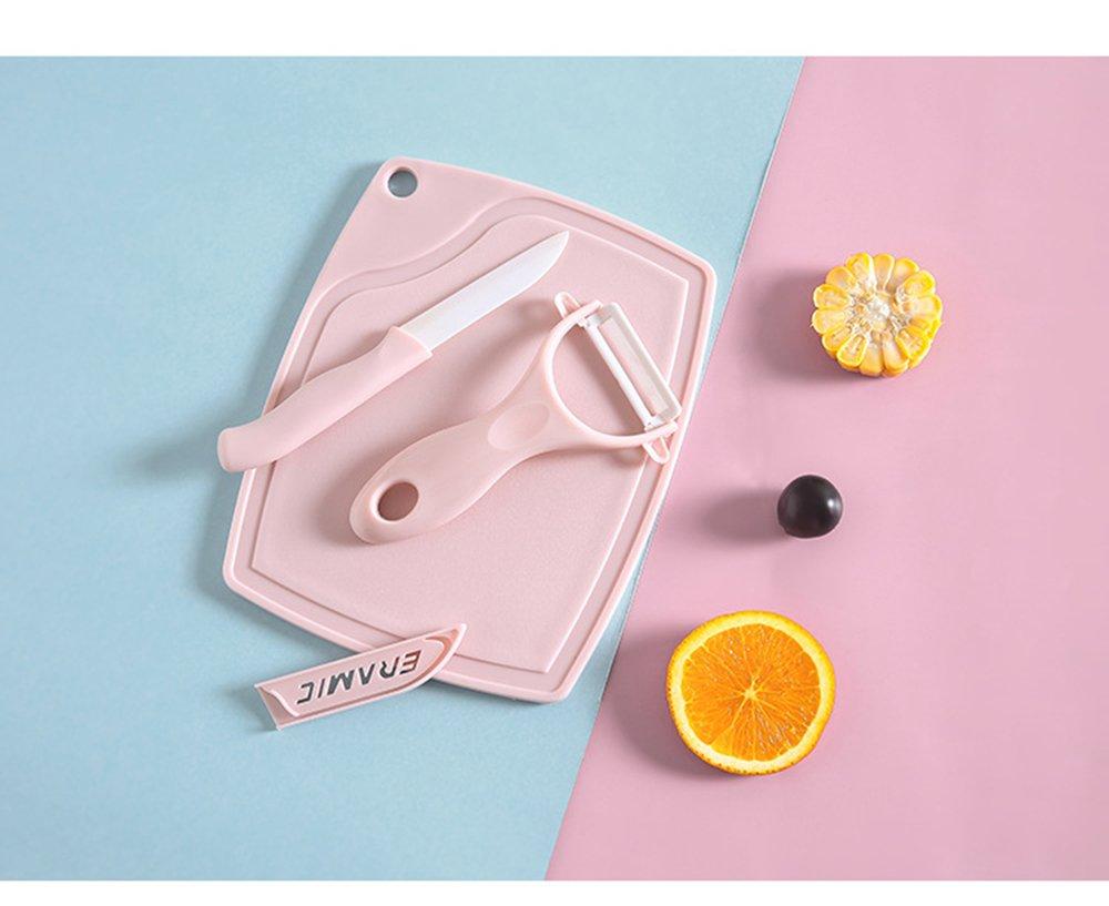 Amazon.com: Kitchen Supplies - Juego de tres cuchillos de ...