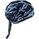 Qchomee Sport Kopftuch Pirat Stirnband atmungsaktiv Hut Functional Bandana Mütze Radfahren Cap Unisex Kappe UV Schutz Kopfbedeckung Erwachsene Schlafmütze für Damen und Herren