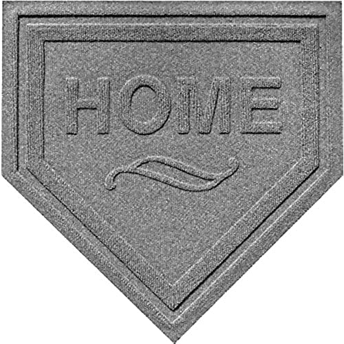 Ordinaire AquaShield Home Plate Mat, 2 By 2 Feet, Medium Grey