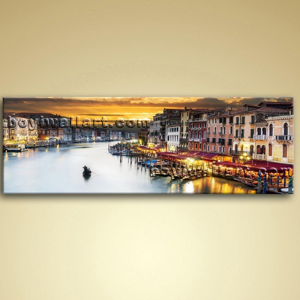 Amazon.com: Large Venice Grand Canal Cityscape Home Decor Wall Art ...