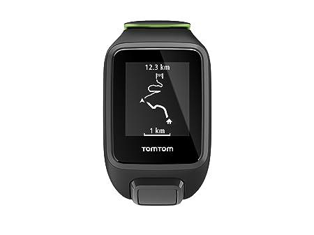 TomTom Runner 3 Cardio, Reloj cardio, Negro/Verde, L (Grande ...